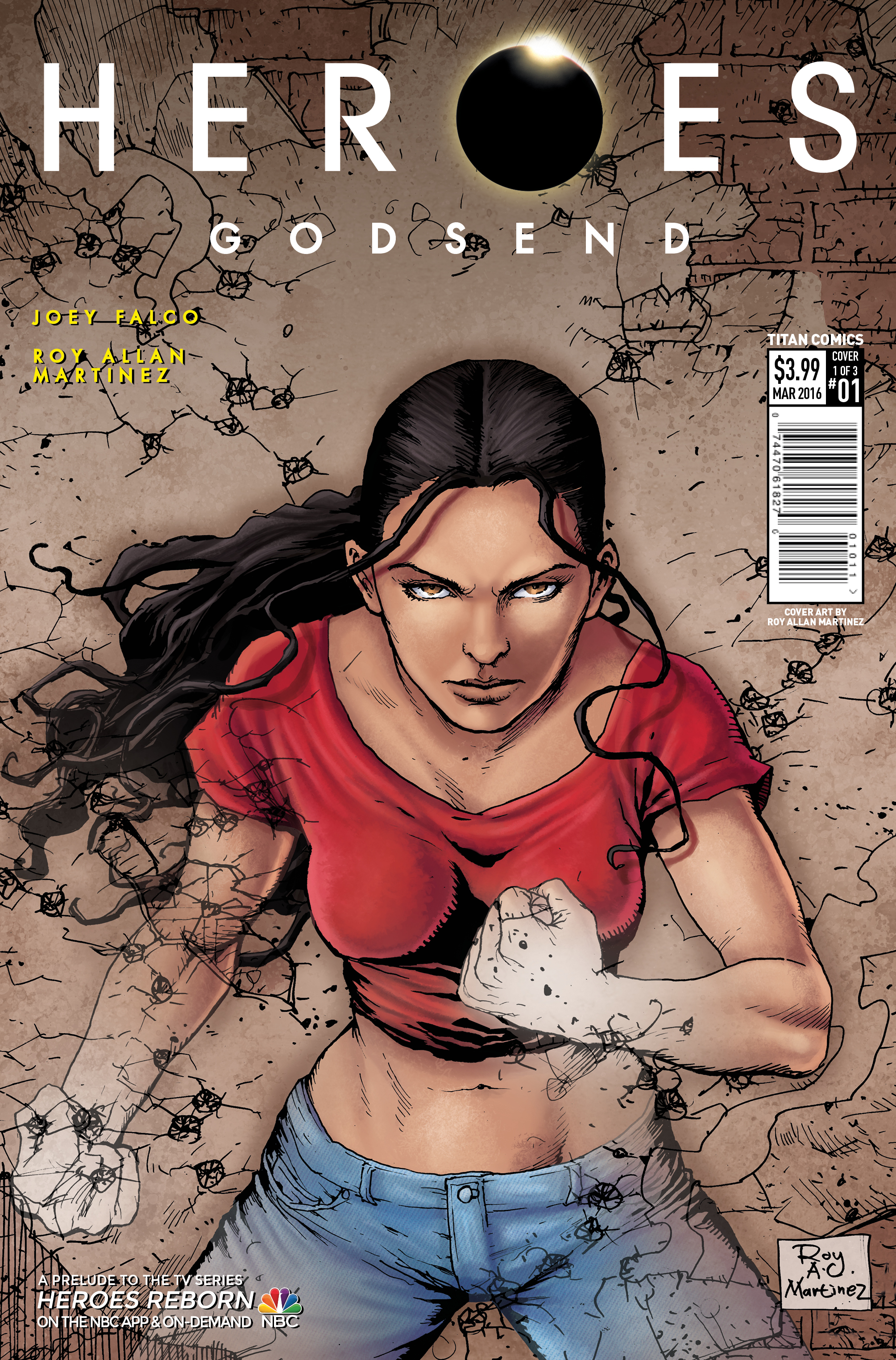 Heroes: Godsend #1 Cover