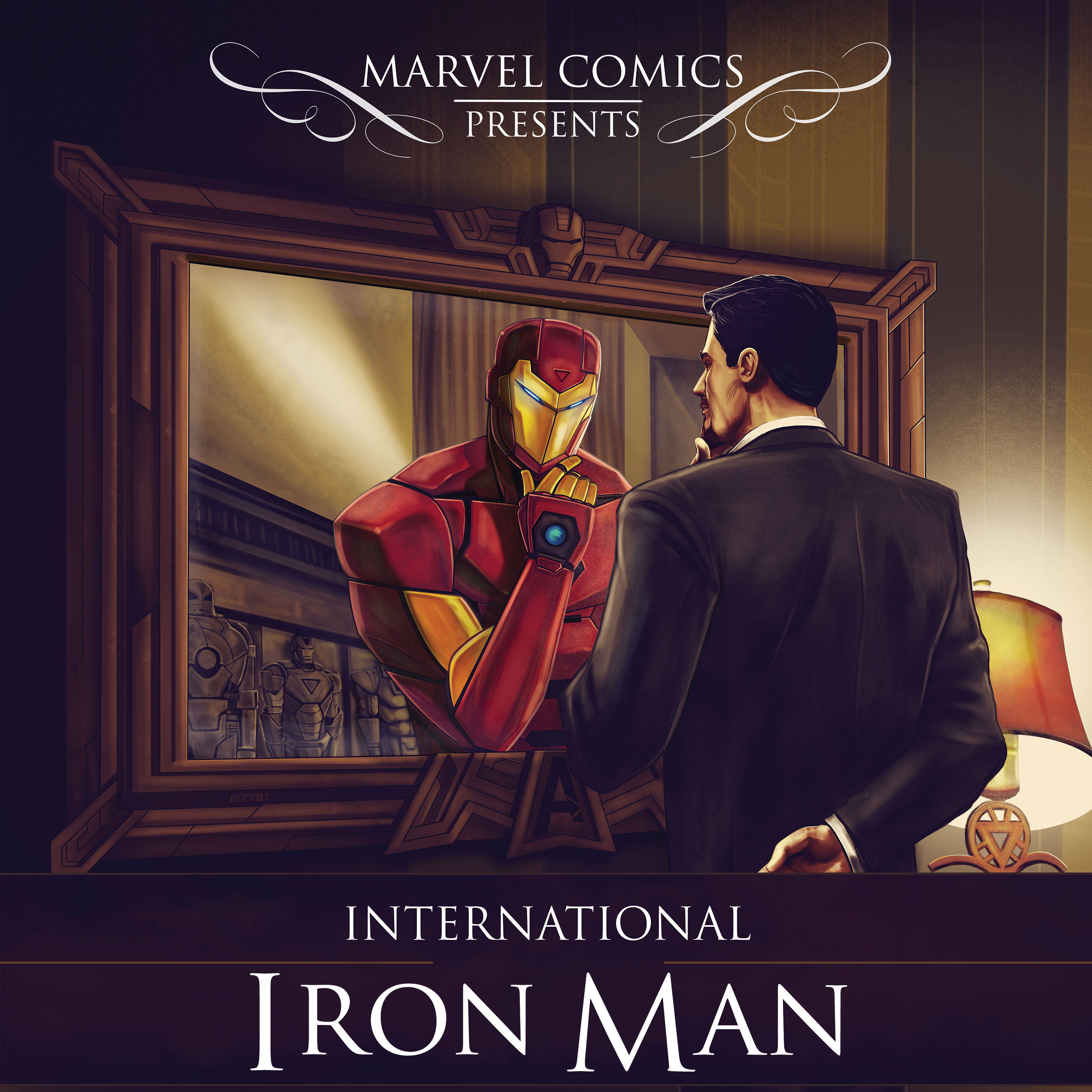 International Iron Man #1 Cover