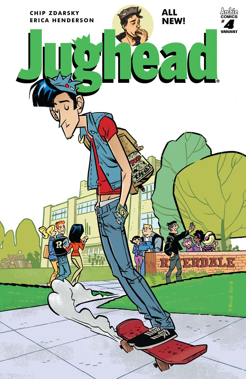 Jughead #4 Cover