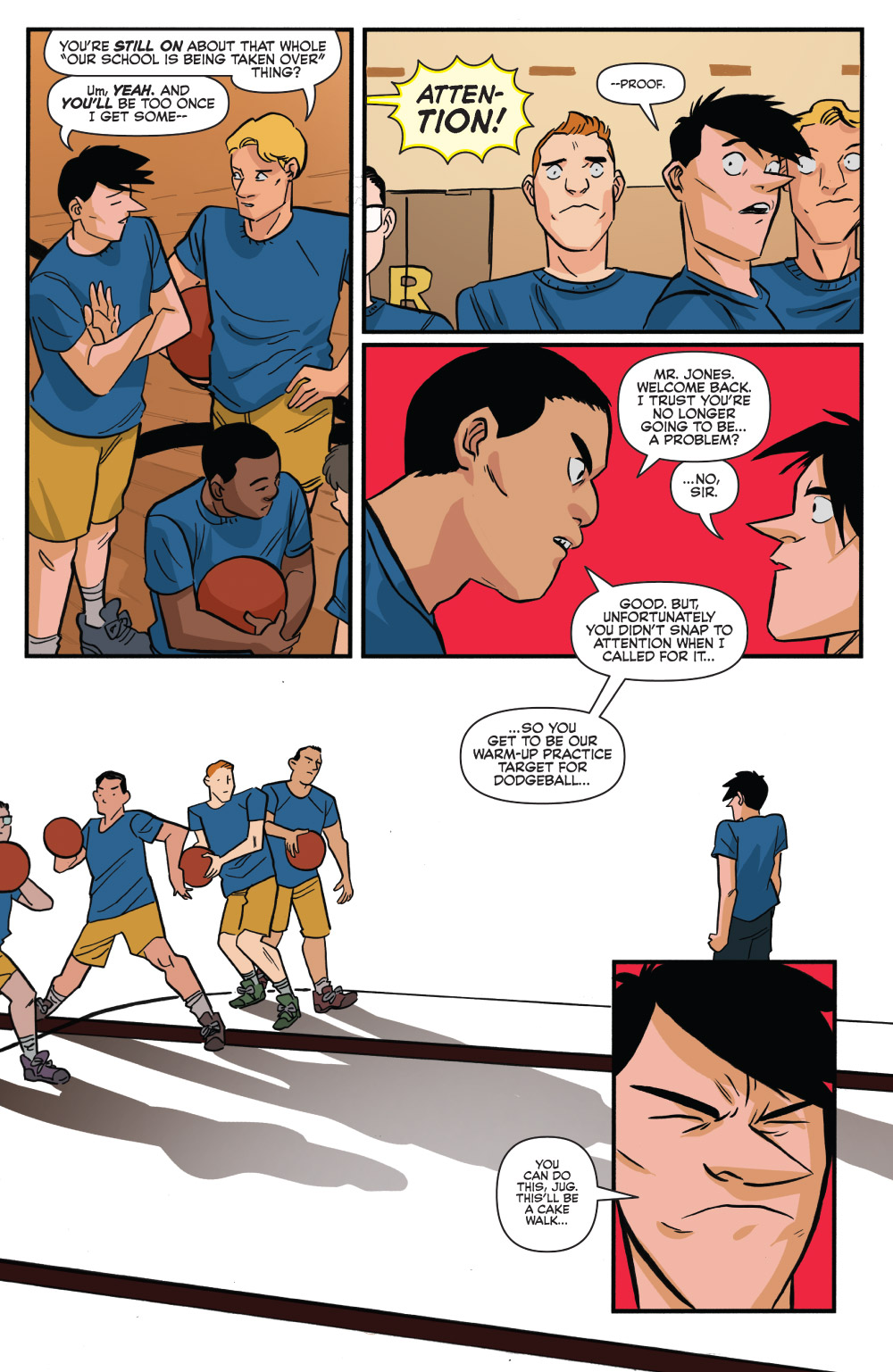 Jughead #4 Preview Page