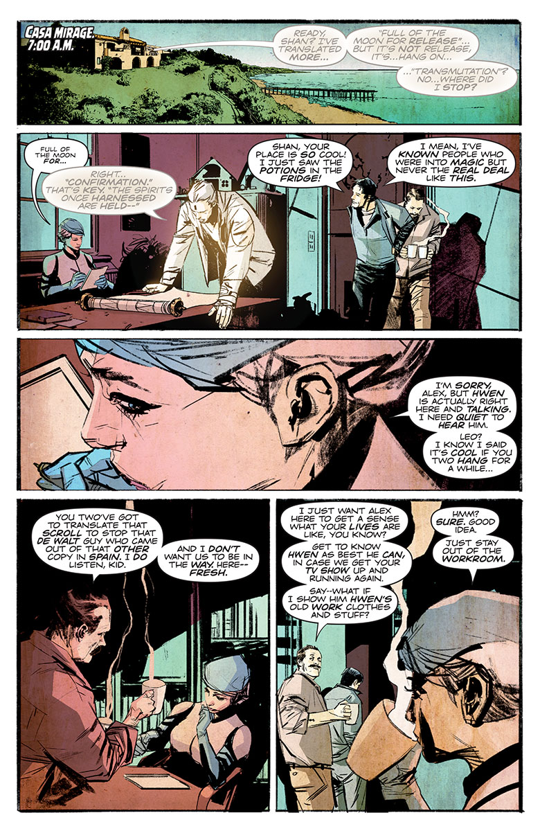 The Death-Defying Doctor Mirage: Second Lives #3 Preview Page