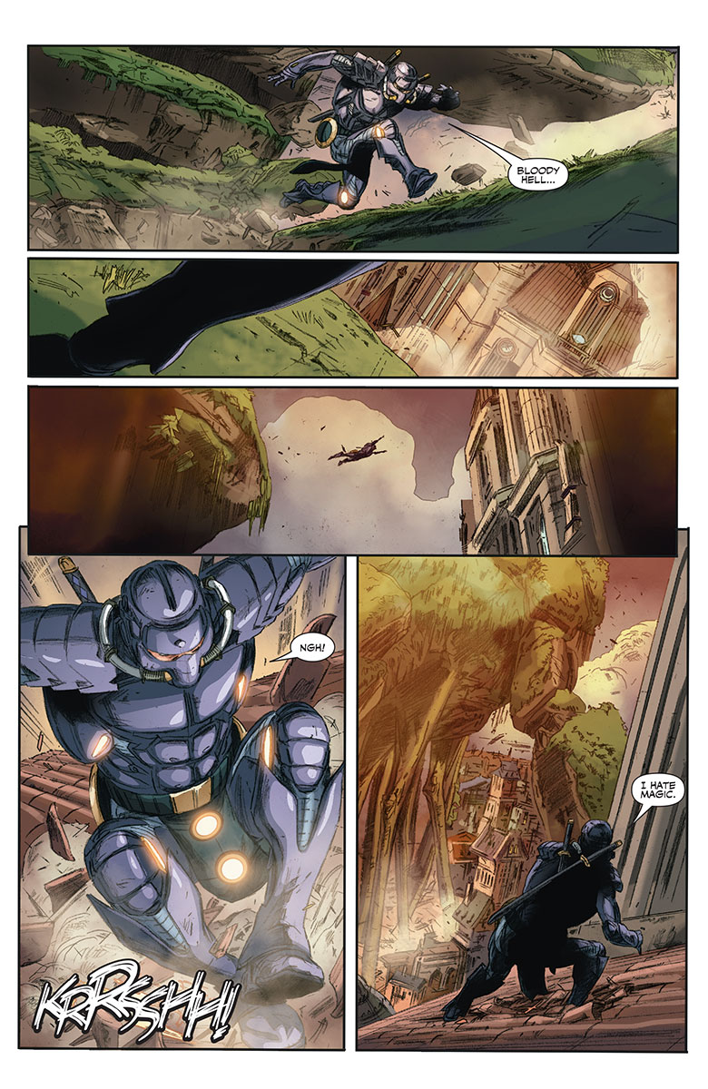 Ninjak #12 Preview Page