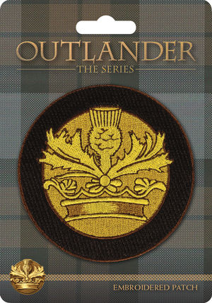 OutlanderCrown&ThistlePatch