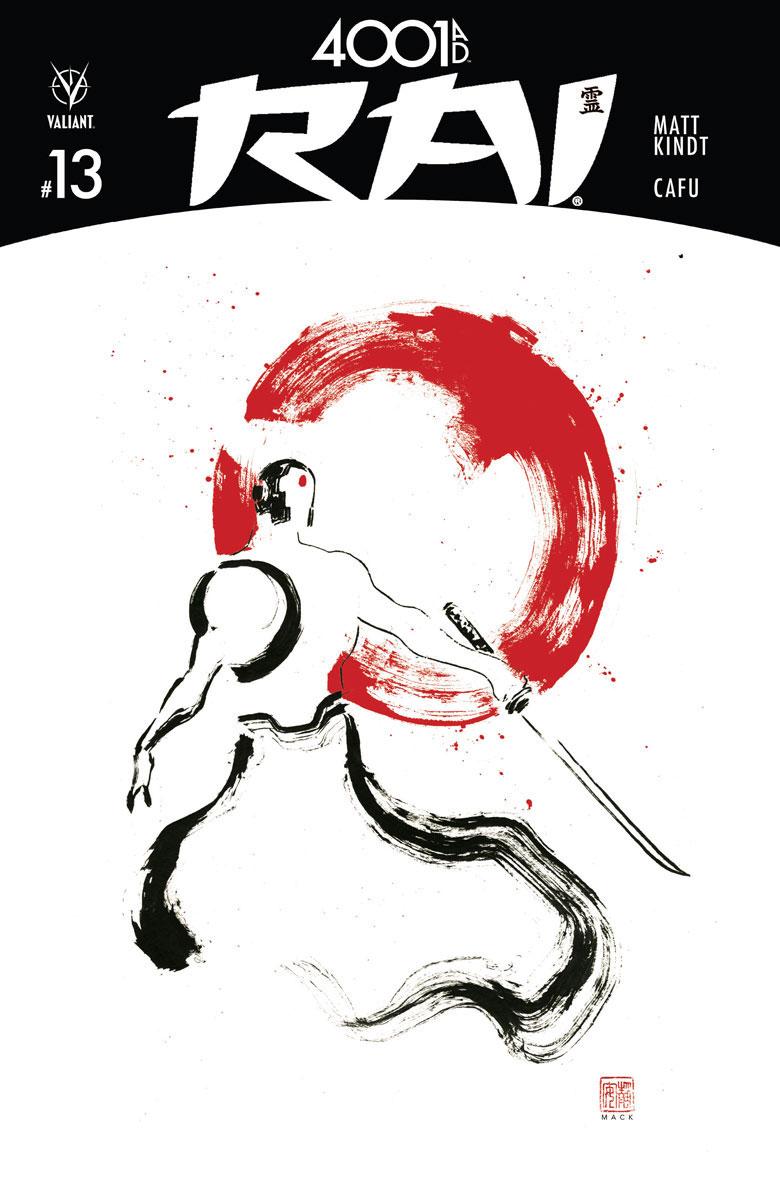 Rai #13 Cover