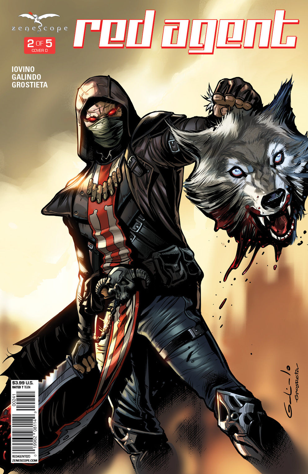 Cover D by Diego Galindo and Grostieta