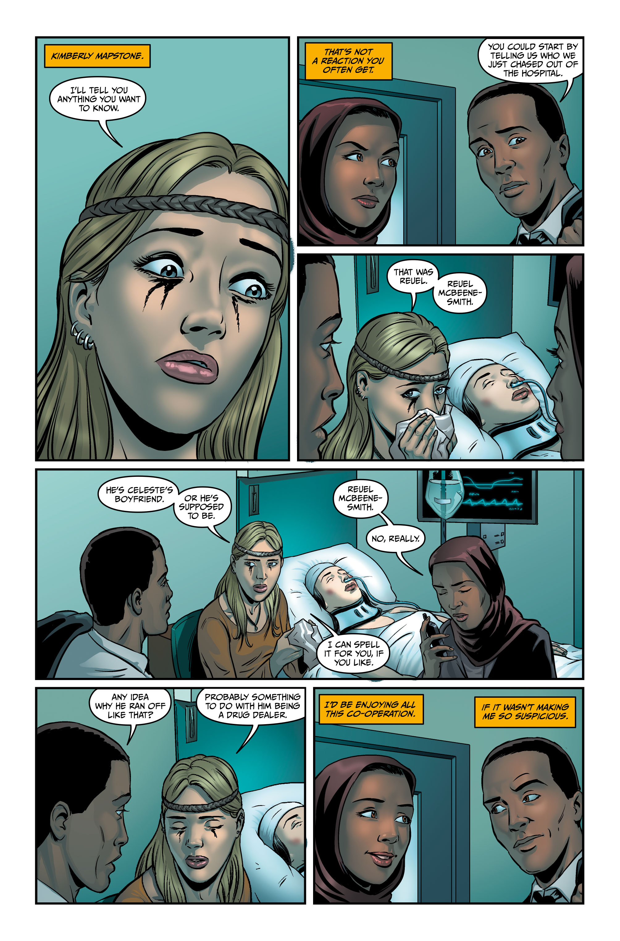 Rivers of London #4 Preview 2