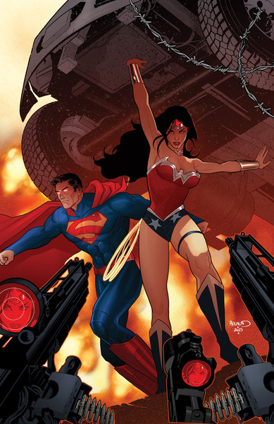Superman/Wonder Woman #28 Cover