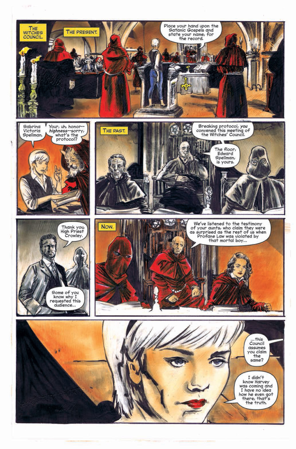 Chilling Adventures of Sabrina #5 First Look