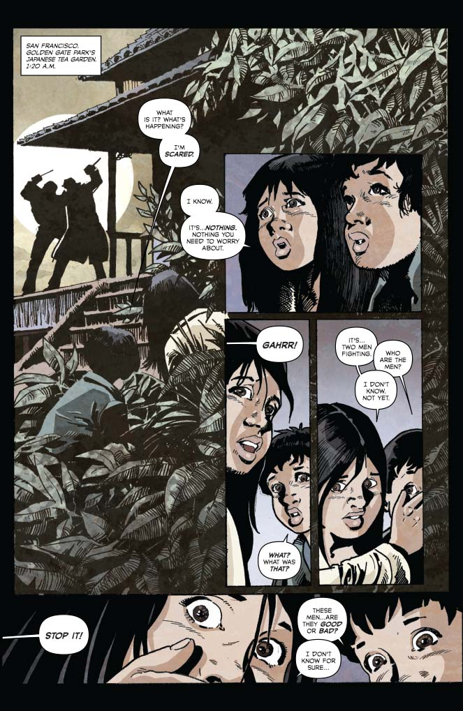 Seduction of the Innocent #3 Preview Page