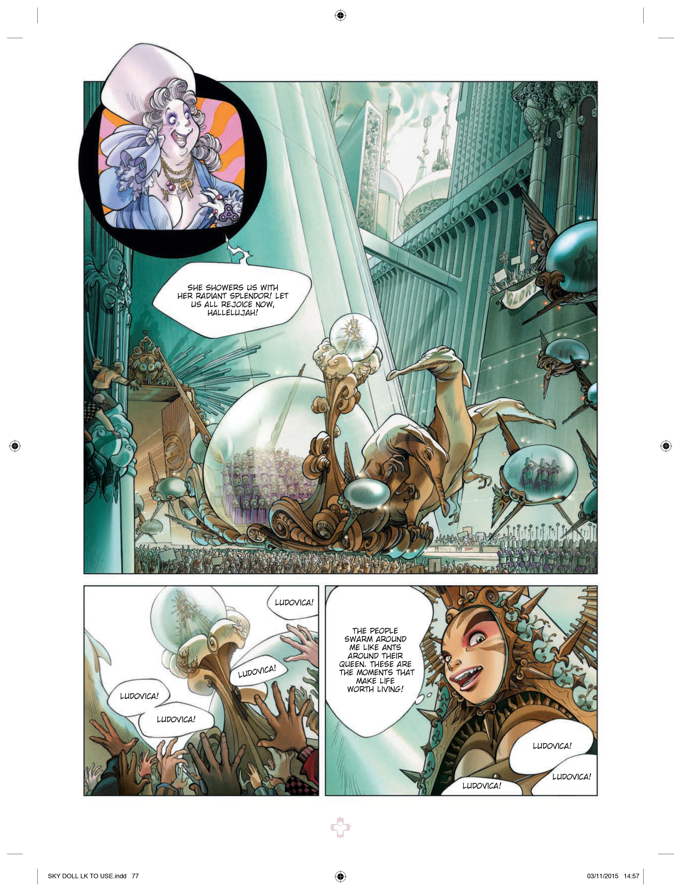 Skydoll: Decade Preview Page
