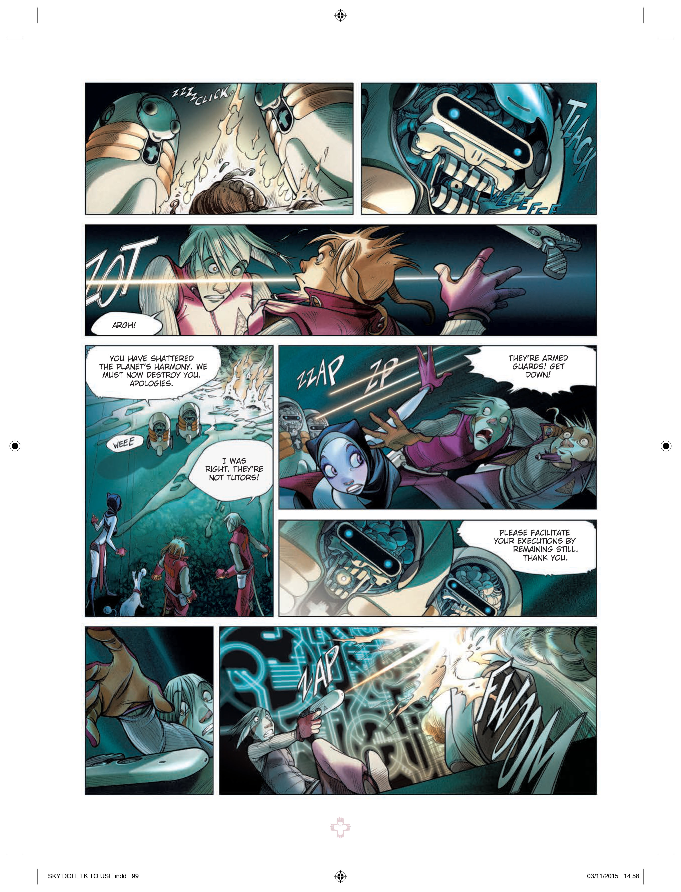 Skydoll: Decade Preview PageSkydoll: Decade Preview Page