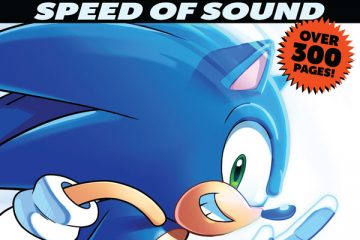 Sonic Comics Spectacular: Speed of Sound TP Cover