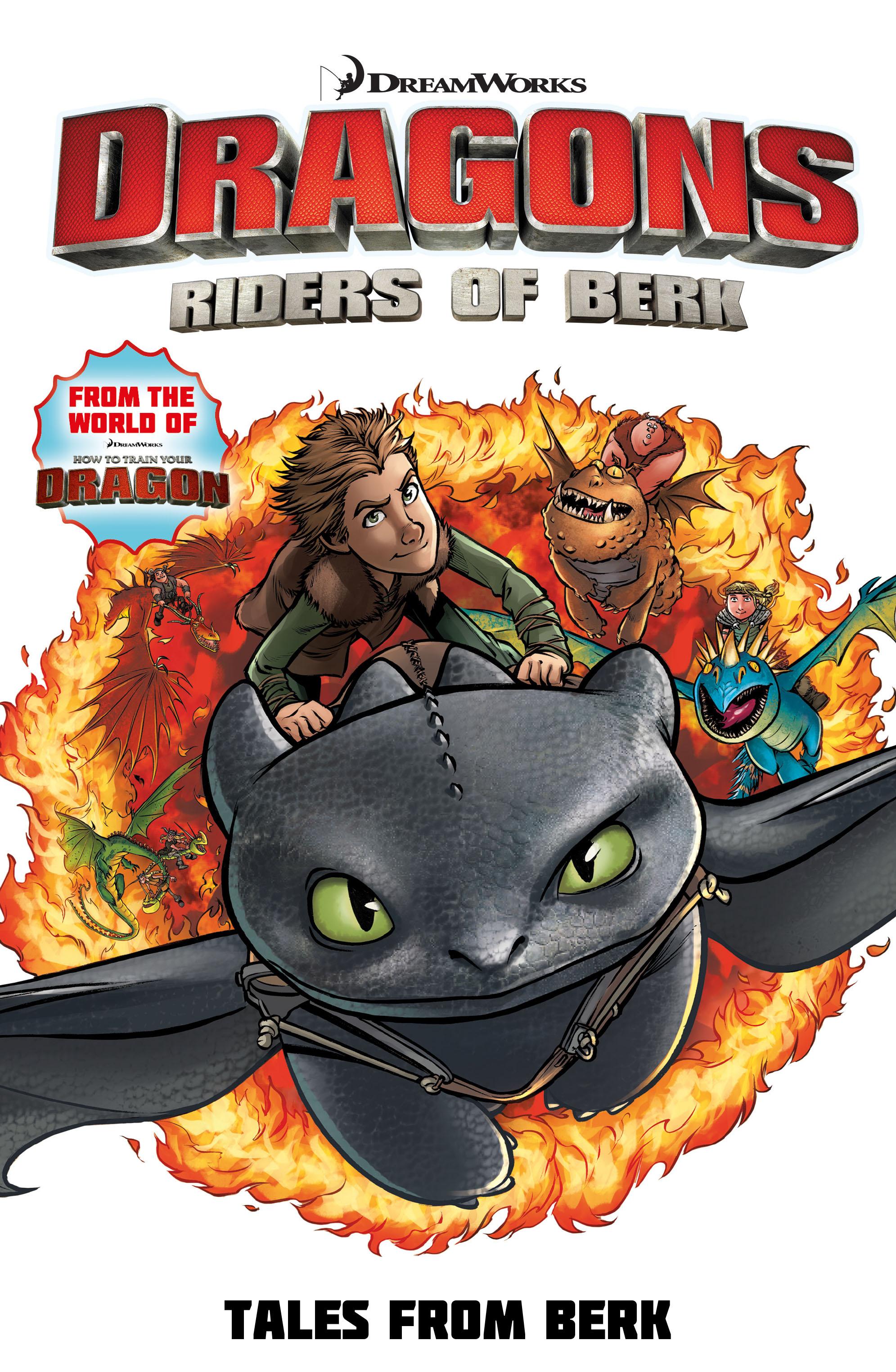 Dragons: Riders of Berk: Tales from Berk Cover