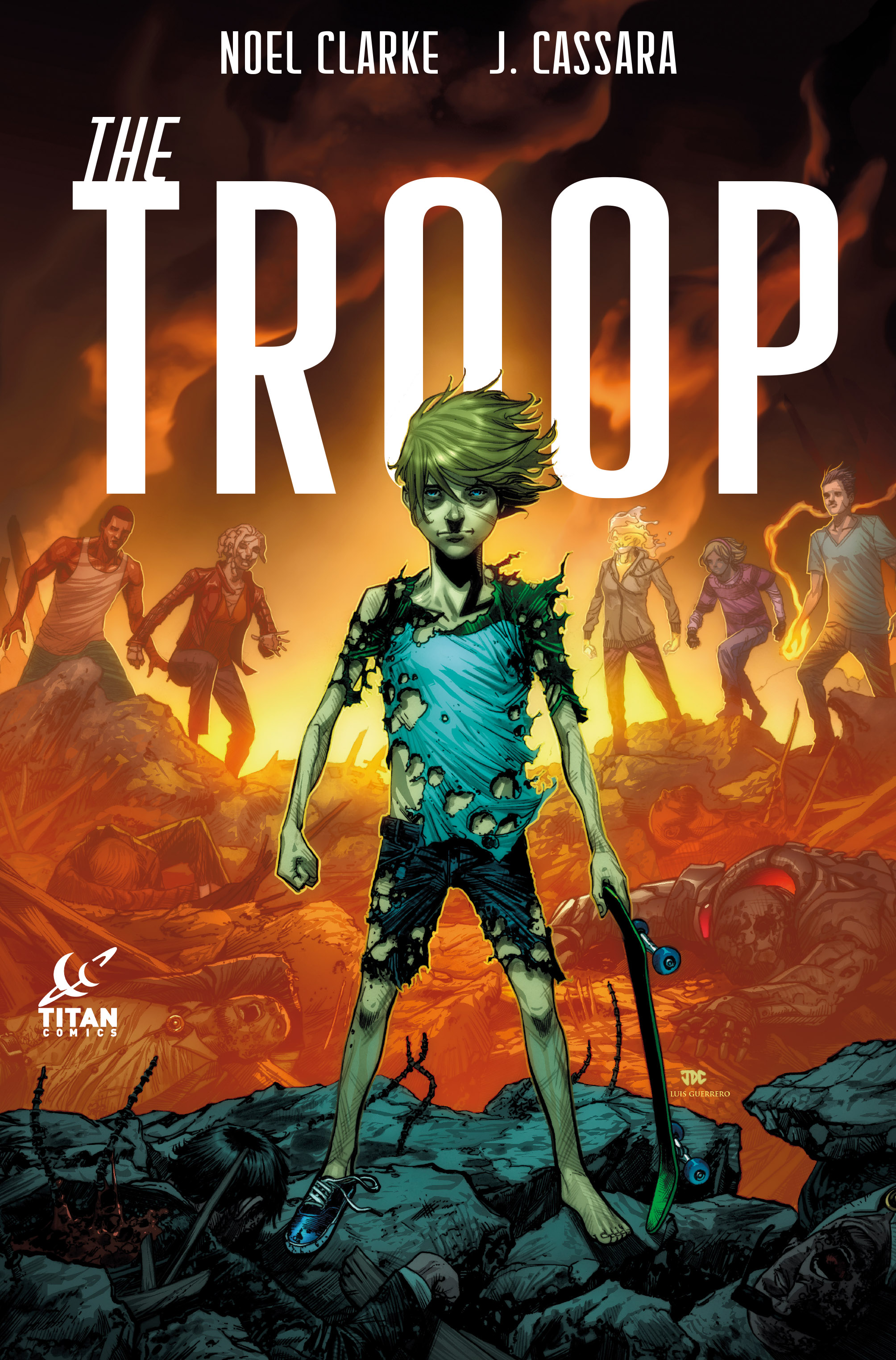 The Troop #3 Cover