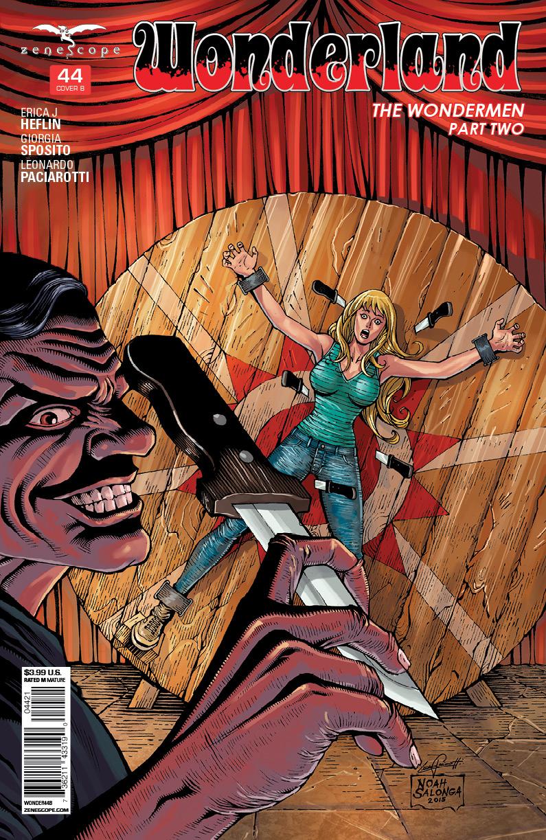 Wonderland #44 Cover