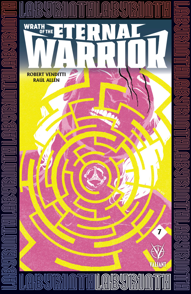 Wrath of the Eternal Warrior #7 Cover