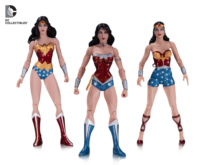 Wonder Woman Action Figure 3-Pack
