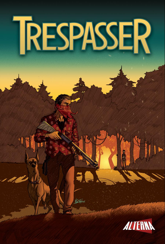 Trespasser #1 Cover