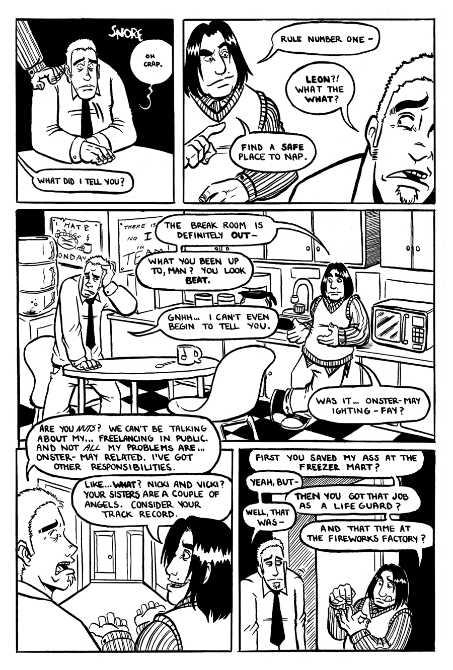 Freelance Blues #1 Preview Page