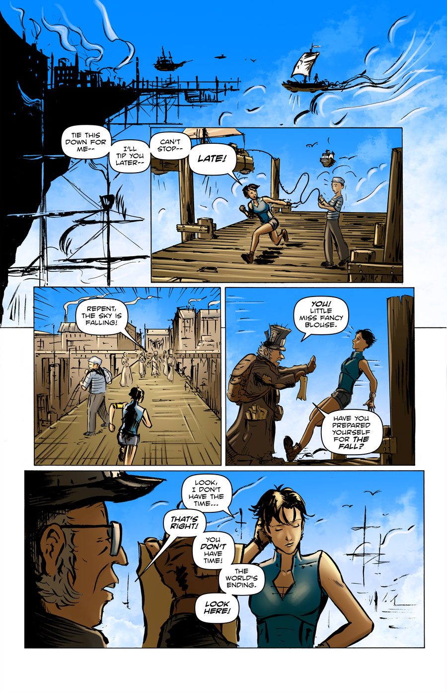 Cannons in the Clouds Preview Page