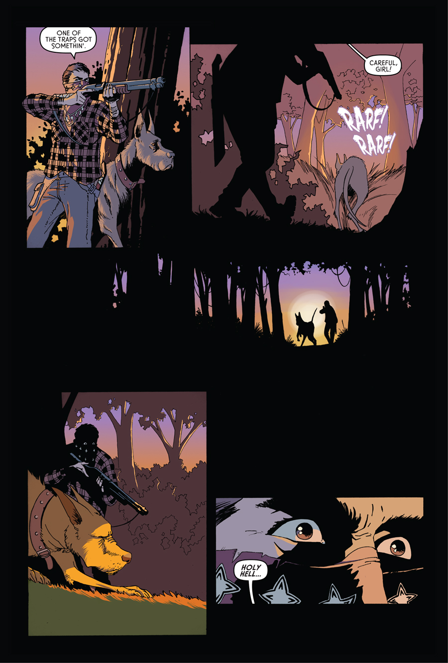 Trespasser #1 Preview Page