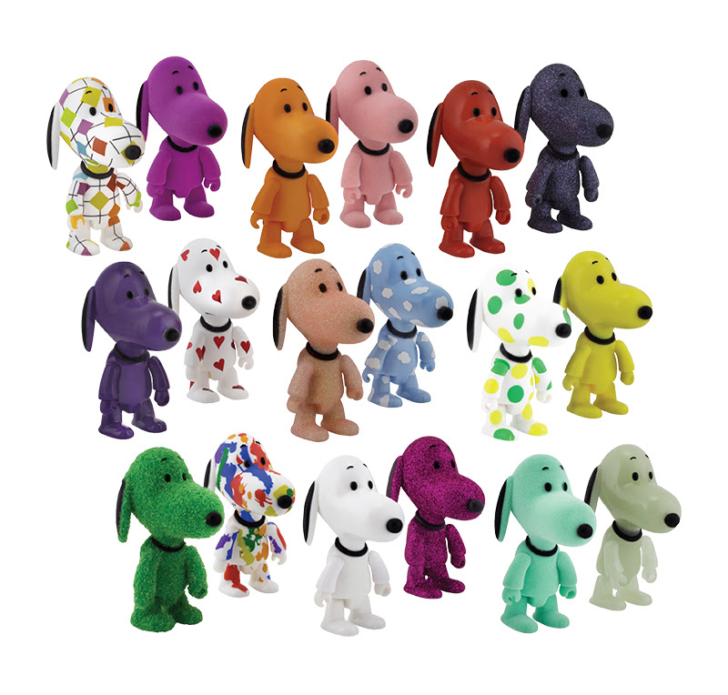 Snoopy Qee Mystery Figures