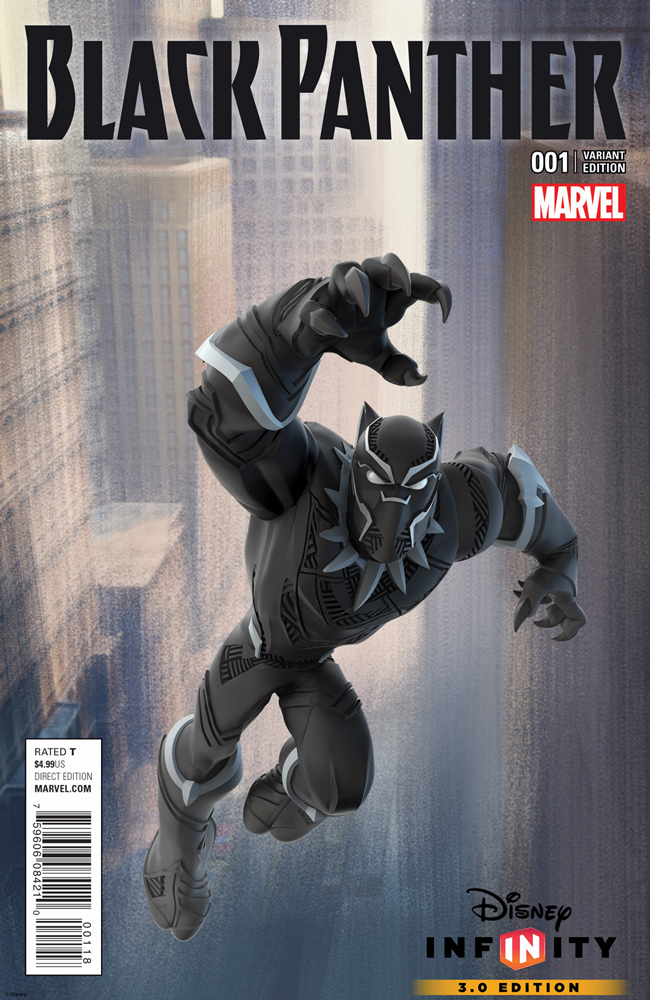 Disney Infinity Game Variant Cover