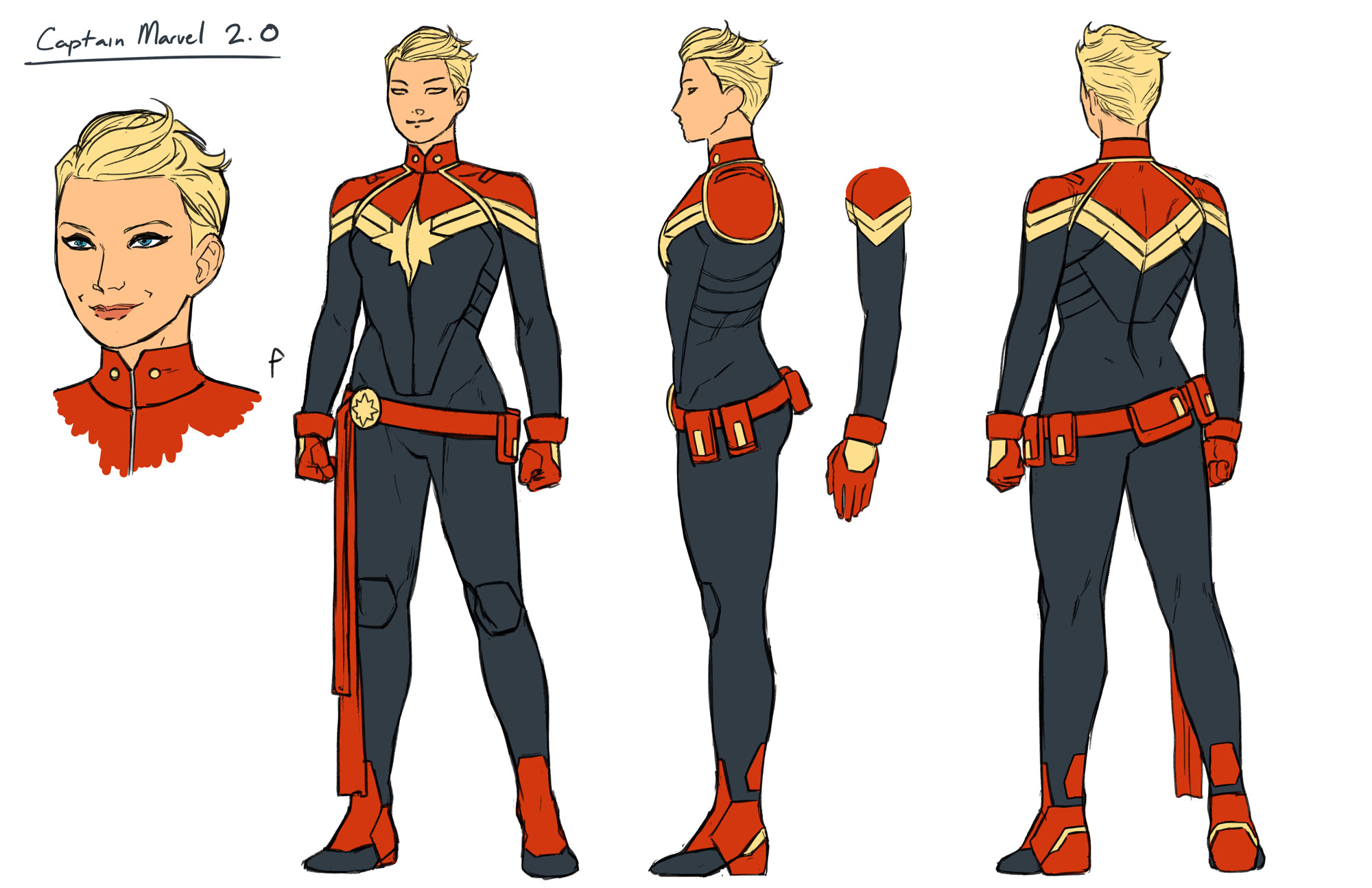 Build Your Own Captain Marvel