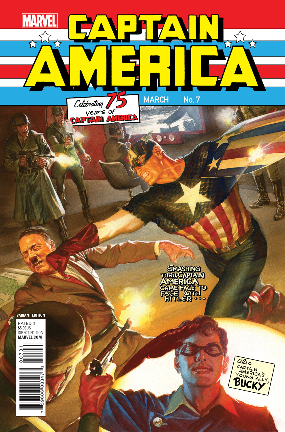 Variant Cover by Alex Ross