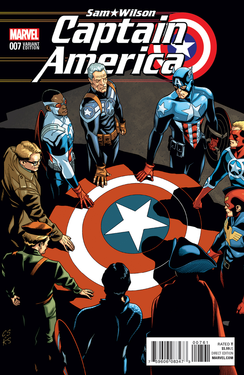 Captain America of All Eras Variant by Chris Sprouse