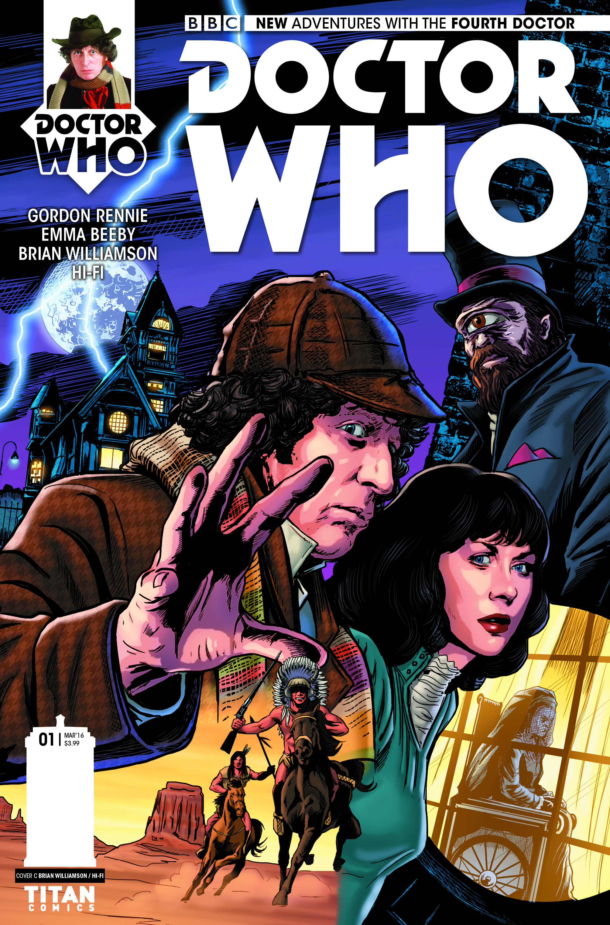 Cover C by Brian Williamson