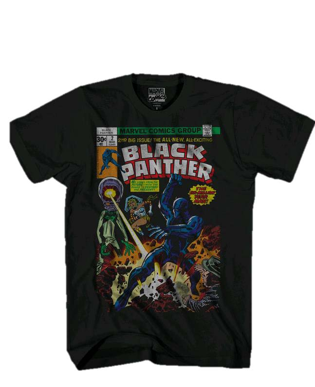 Mad Engine_Mens Black Panther Retro T-shirt_Spring 2016_JCPenney