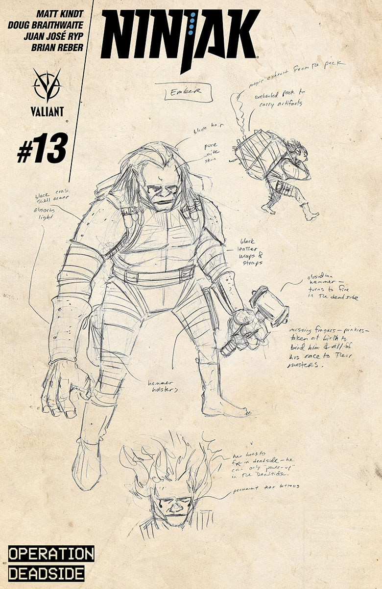Character Design Variant by Matt Kindt