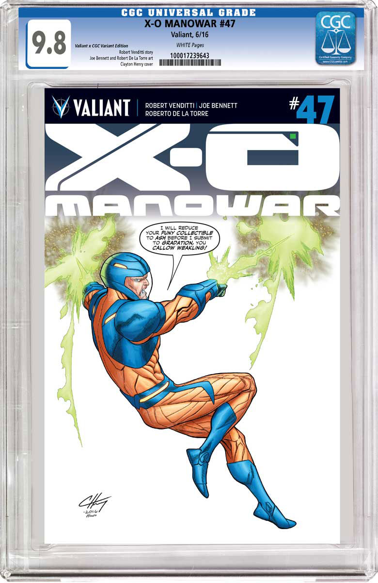 CGC Replica Variant by Clayton Henry