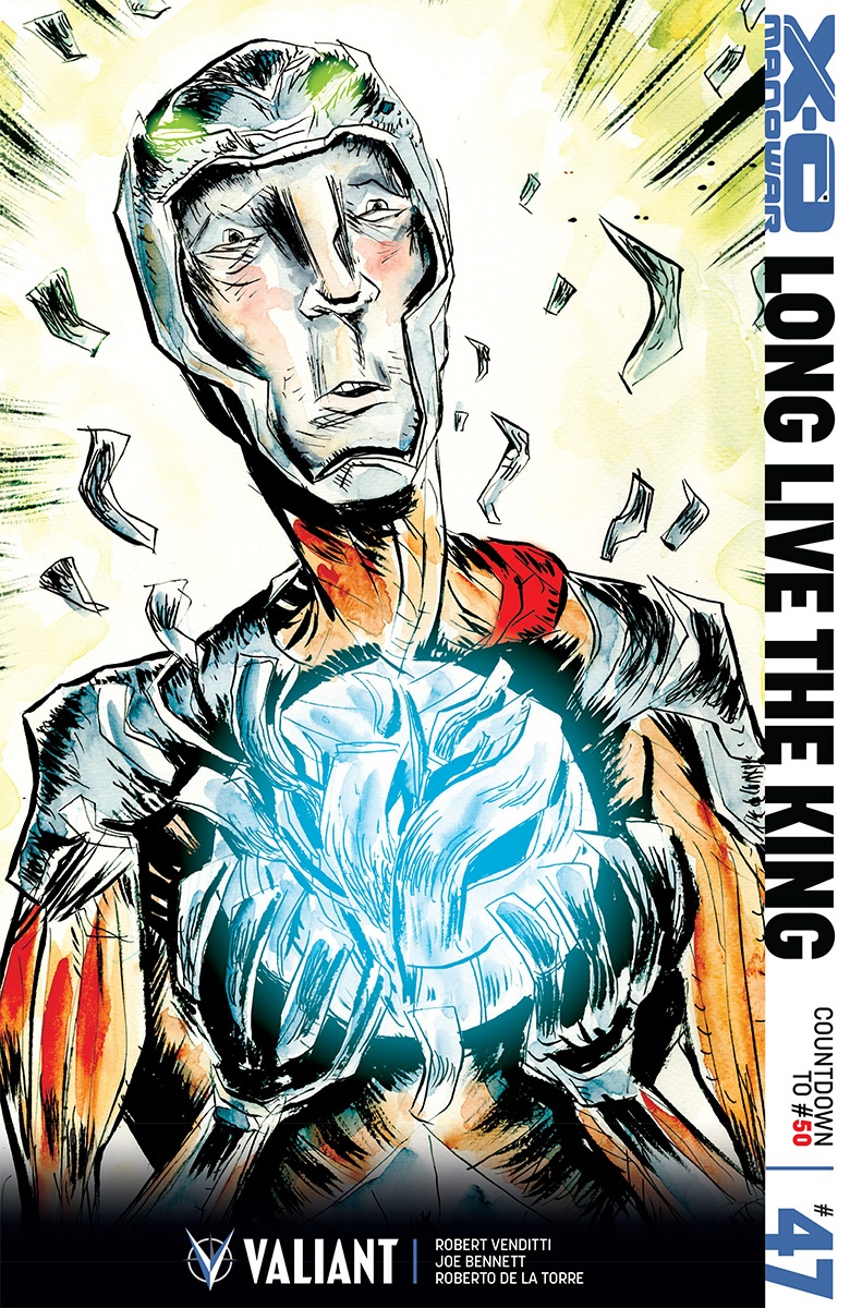 Variant Cover by Jeff Lemire