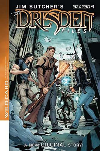 Comic Book Review Jim Butchers The Dresden Files Wild Card 1
