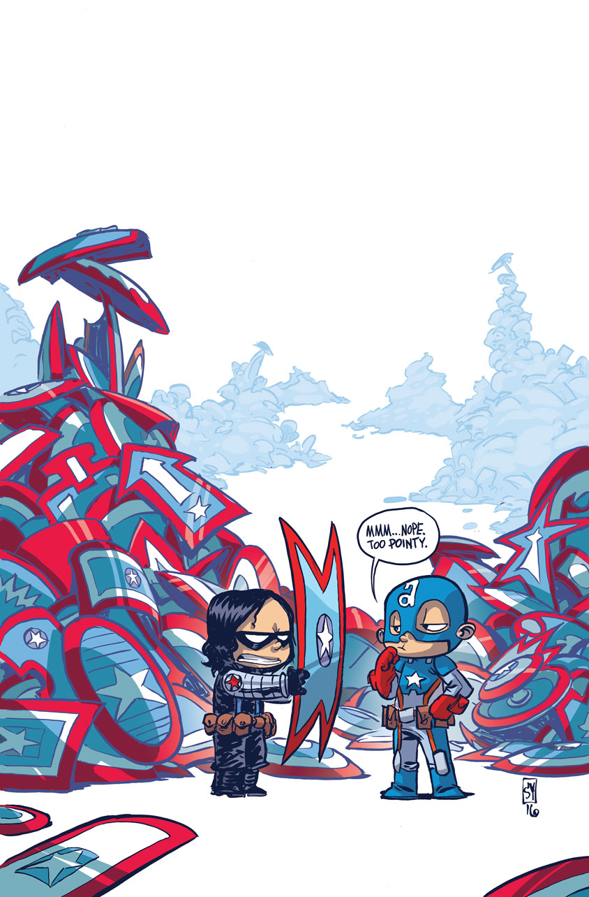 Variant Cover by Skottie Young