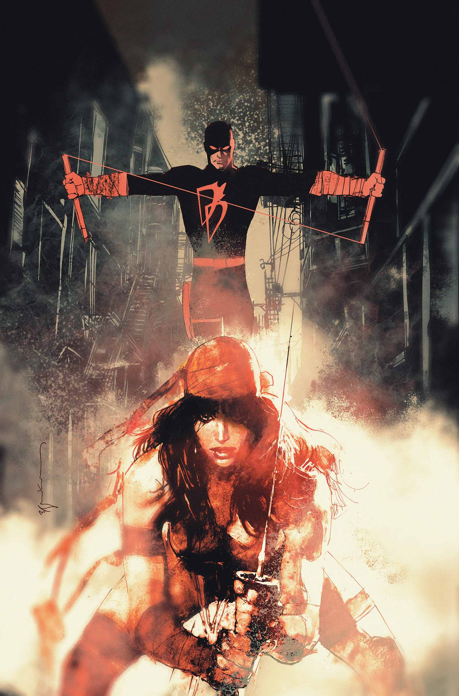 Cover by Bill Sienkiewicz