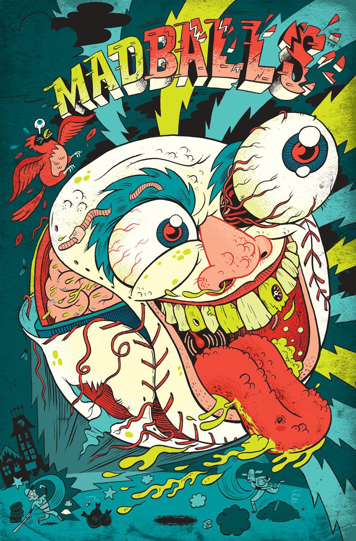 Cover B by Dan Zettwoch