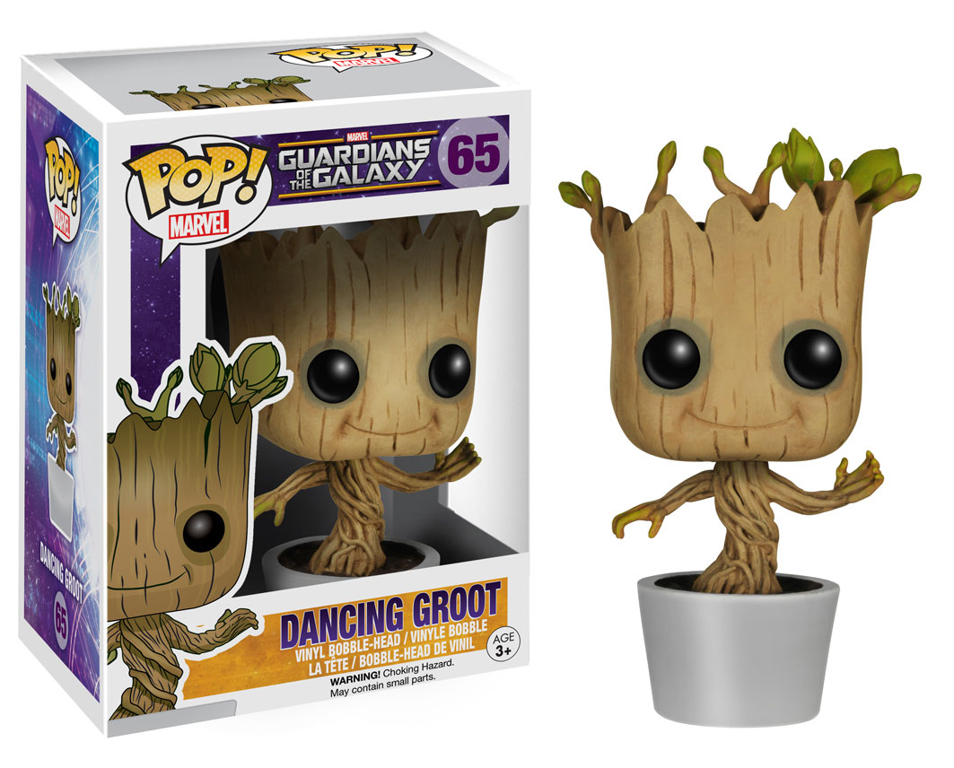 Dancing Groot Bobblehead