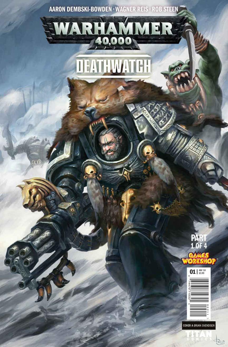 warhammer 40,000 deathwatch comics