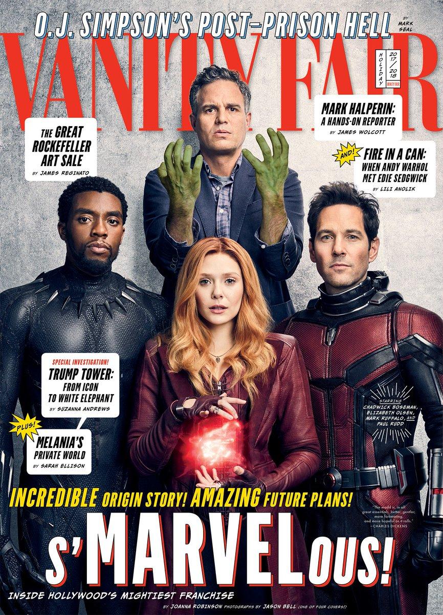 Avengers Infinity War Vanity Fair Cover