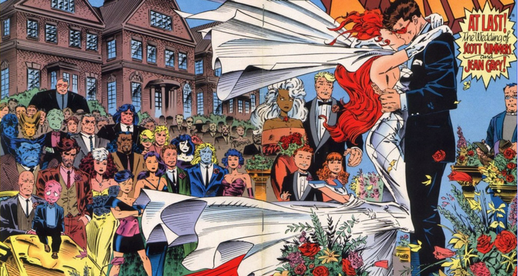 Jean Grey and Cyclops Wedding
