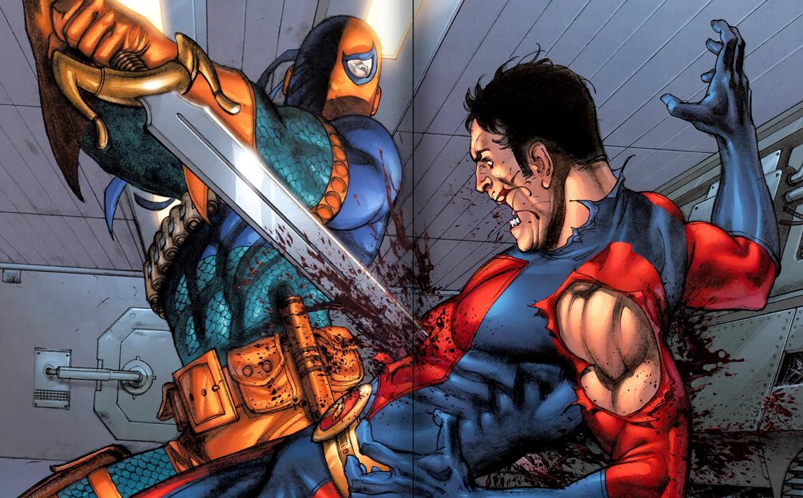 Deathstroke vs Ryan Choi
