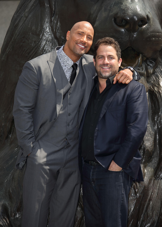 """Brett Ratner and Dwayne """"The Rock"""" Johnson"""