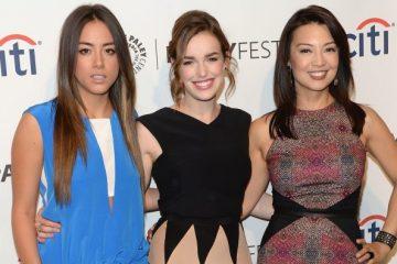 Chloe Bennett, Elizabeth Henstridge , and Ming-Na Wen