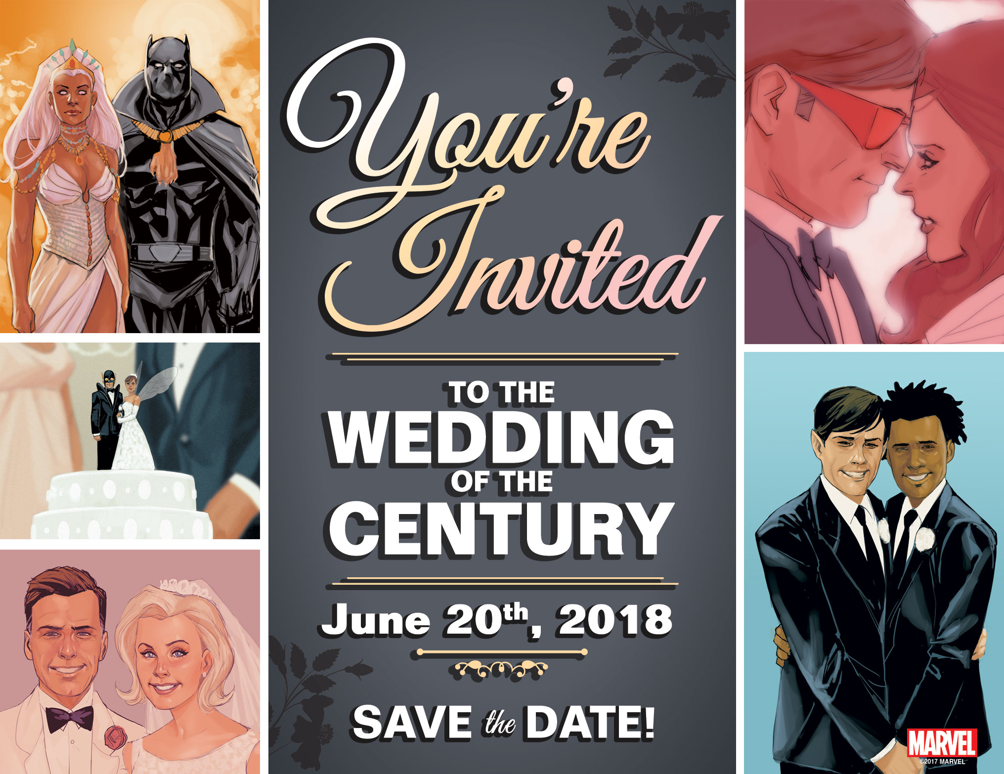 Marvel Save the Date