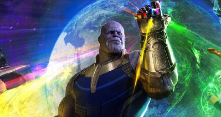 Thanos Avengers Poster