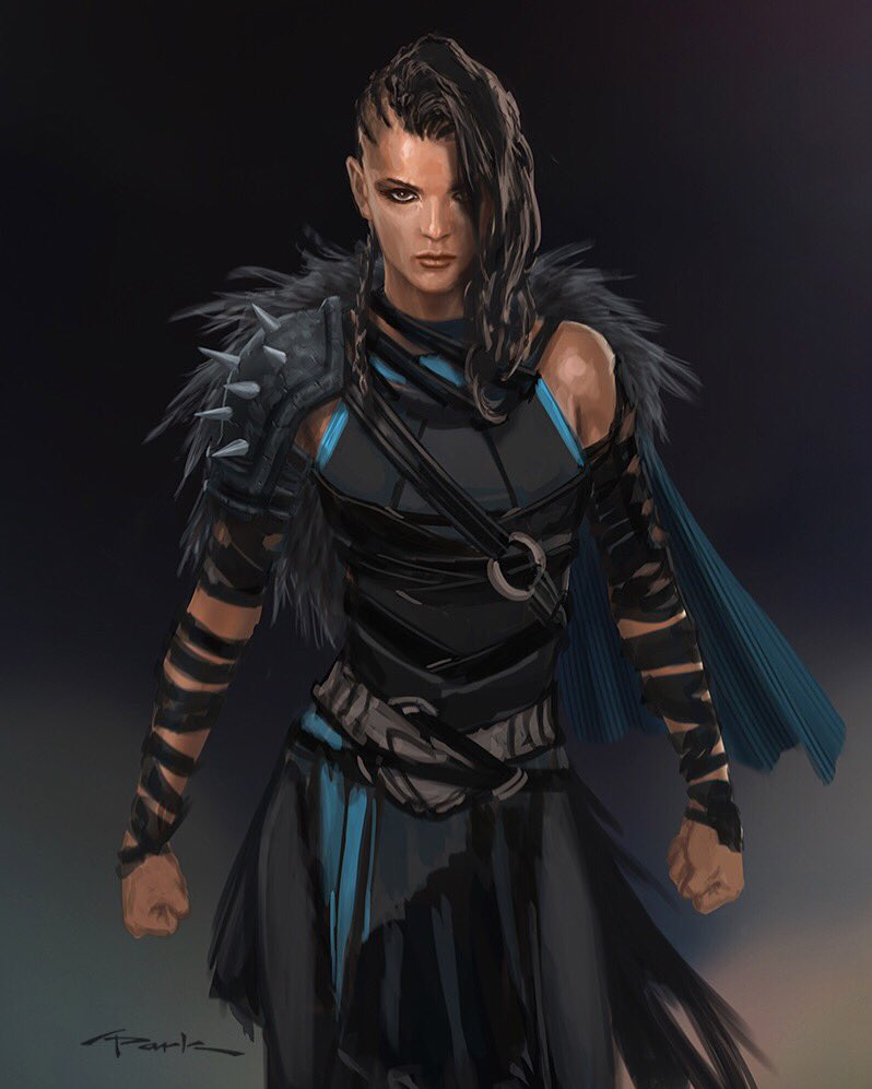 Andy Park Valkyrie Character Design