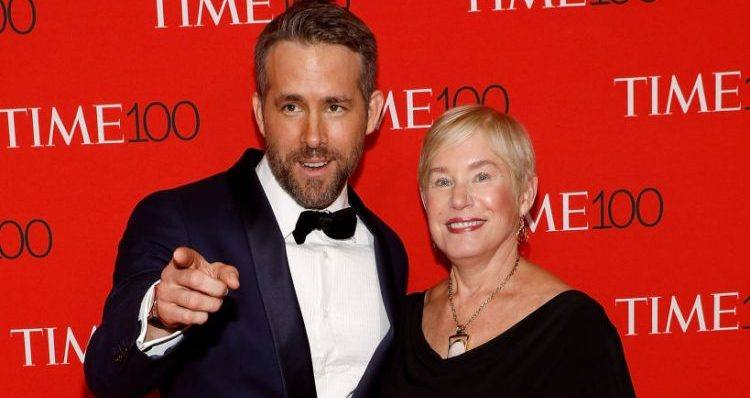 Ryan Reynolds and Mom Tammy Reynolds